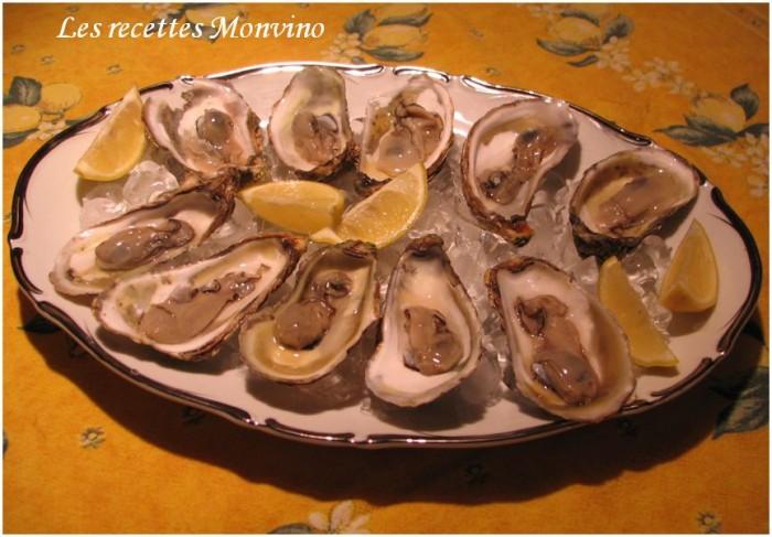 recettes huîtres